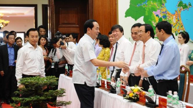 Presidente vietnamita urge a convertir a Da Nang en una gran urbe del país - ảnh 1