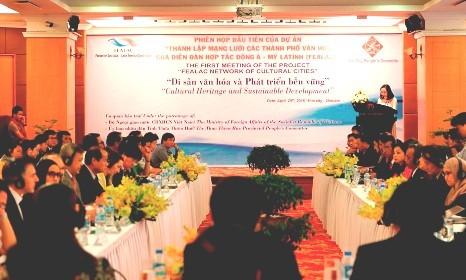 Realizan en Vietnam reunión sobre proyecto de colaboración entre América Latina y Asia del Este - ảnh 1
