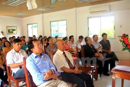 Conmemora aniversario 41 de la reunificación de Vietnam en el extranjero - ảnh 1