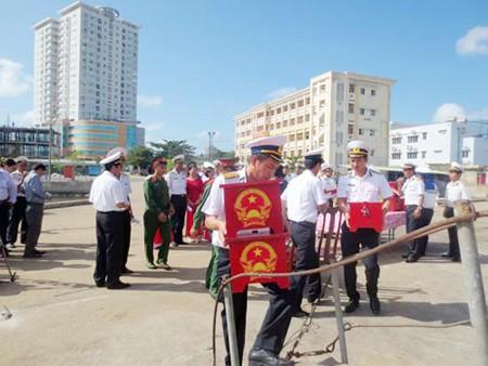 Provincia de Ba Ria Vung Tau celebra votación anticipada en territorio marítimo - ảnh 1