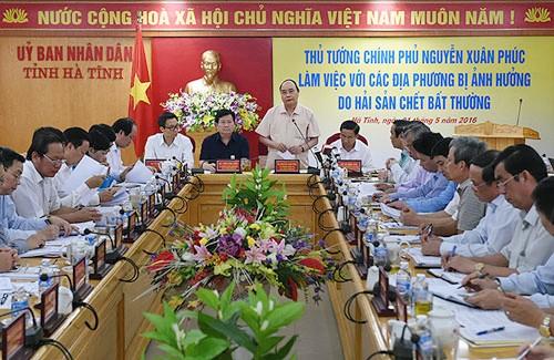 Vietnam continúa superando consecuencias de muerte de peces en costas centrales - ảnh 1