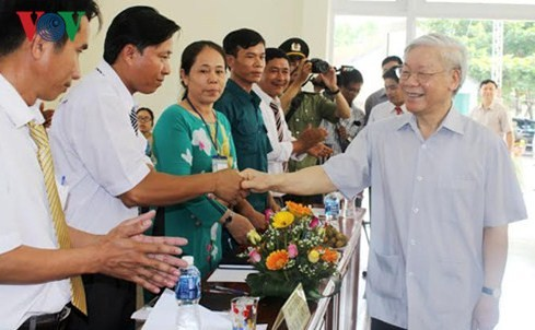 Destaca líder partidista potencialidades de provincia de Phu Yen  - ảnh 1