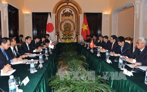 Vietnam y Japón determinados a consolidar las relaciones de asociación estratégica bilateral - ảnh 1