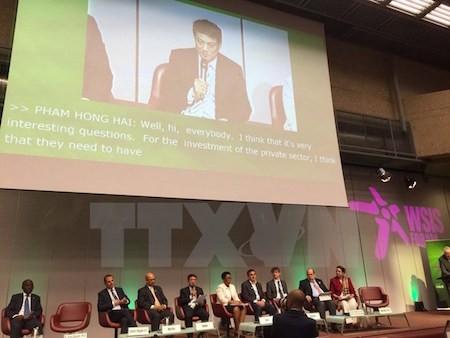 Vietnam participa en Cumbre mundial sobre sociedad informativa  - ảnh 1