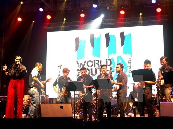 Vietnam participa en el Festival de jazz para jóvenes 2016 en Malasia - ảnh 1