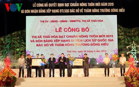 Elogia vicepremier vietnamita movimiento nacional de construcción de nueva ruralidad  - ảnh 1