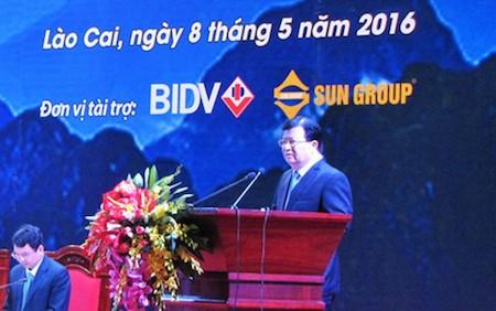 Promueven inversión y desarrollo turístico en Lao Cai  - ảnh 1