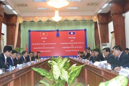 Vietnam y Laos robustecen cooperación en seguridad pública - ảnh 1