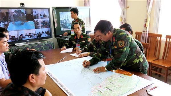 Vietnam celebra maniobra con mapas de riesgo de respuesta a desastres - ảnh 1