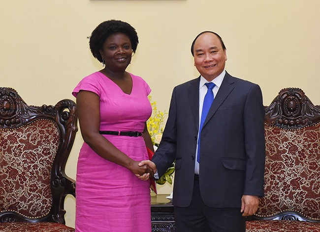 Llama premier vietnamita apoyo del Banco Mundial en enfrentamiento al cambio climático  - ảnh 1
