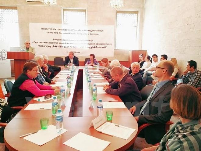 Efectuán seminario sobre perspectivas de cooperación entre Vietnam y Rusia - ảnh 1