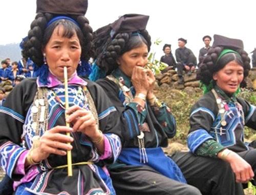 Música, instrumentos, y bailes tradicionales de los Ha Nhi - ảnh 1