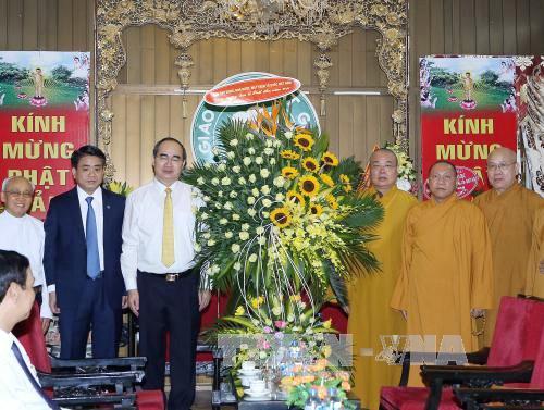 Progreso del budismo evidencia la libertad religiosa en Vietnam - ảnh 1