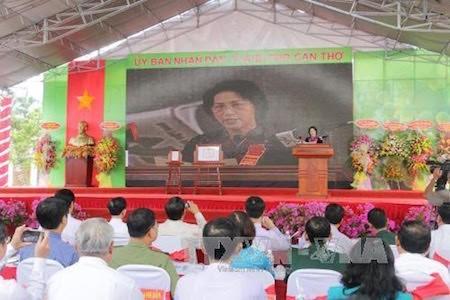 Presidenta del Parlamento de Vietnam destaca la importancia de la construcción del nuevo campo - ảnh 1