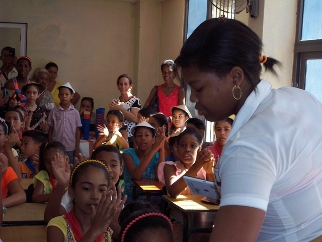 Ratifican niños cubanos su admiración por Martí, Ho Chi Minh y Vietnam - ảnh 1
