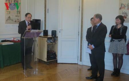 Historiador vietnamita recibe título honorífico en Francia  - ảnh 1