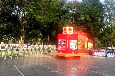 """Inauguran en Hanoi exposición de fotos """"El Festejo del pueblo""""  - ảnh 1"""
