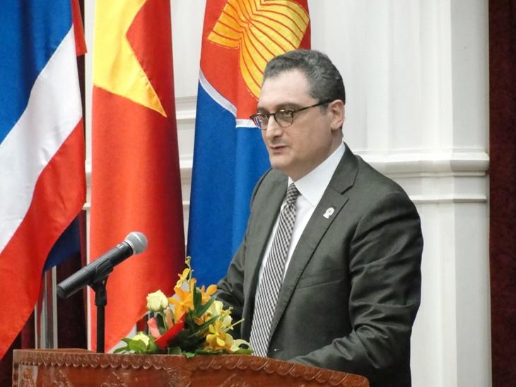 Moscú destaca Tratado de Libre Comercio Vietnam-Unión Económica Euroasiática  - ảnh 1