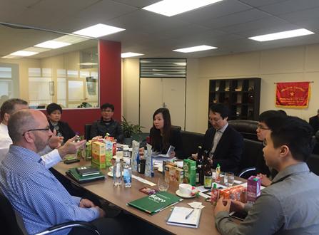 Robustecen cooperación entre empresas de Vietnam y Nueva Zelanda - ảnh 1