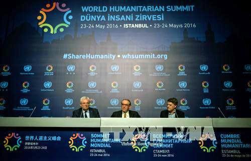 Celebran primera Cumbre Humanitaria Mundial en Turquía - ảnh 1