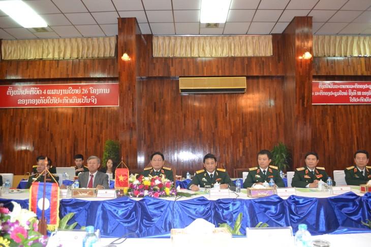 Vietnam y Laos impulsan cooperación en defensa  - ảnh 1