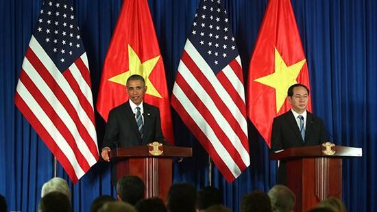 Emiten Vietnam y Estados Unidos Declaración Conjunta - ảnh 1