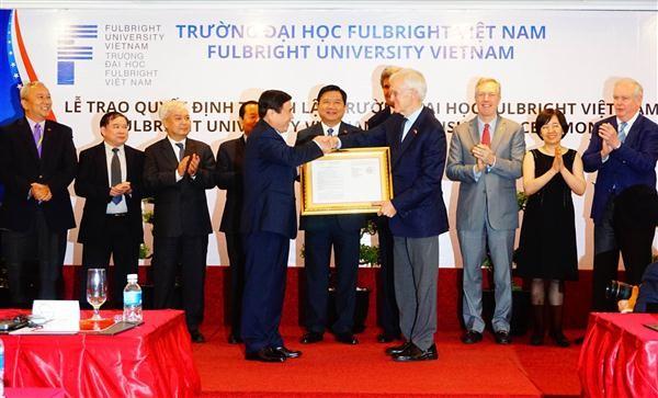 Forman la primera universidad sin fines de lucro en Vietnam con ayuda de Estados Unidos - ảnh 1
