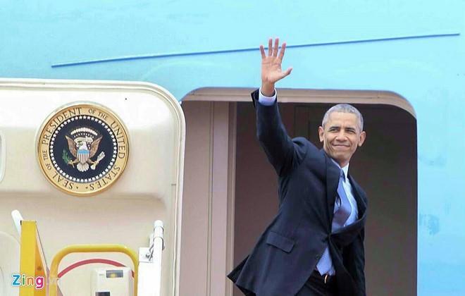 Finaliza Barack Obama su visita oficial en Vietnam - ảnh 1