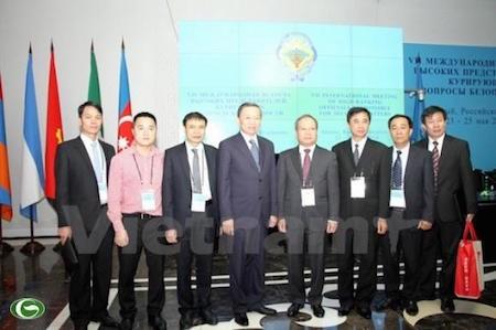 Efectuada en Rusia séptima conferencia internacional de altos funcionarios de seguridad  - ảnh 1