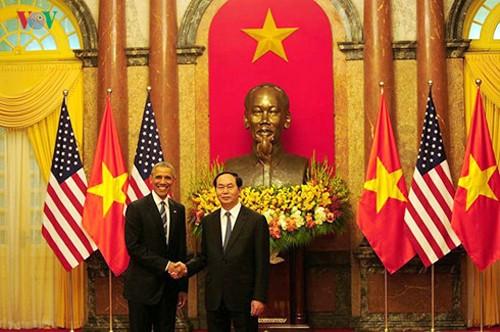 Vietnam y Estados Unidos avanzan hacia el futuro prometedor - ảnh 1