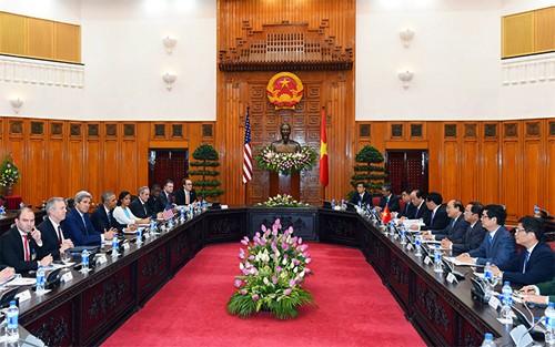 Vietnam y Estados Unidos avanzan hacia el futuro prometedor - ảnh 2