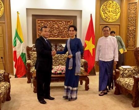 Vietnam valora altamente los lazos tradicionales con Myanmar - ảnh 1