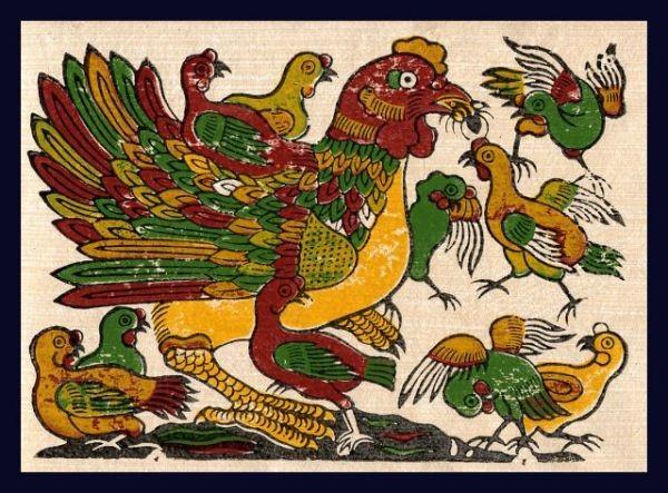 El gallo en la vida cultural y espiritual de los vietnamitas - ảnh 1