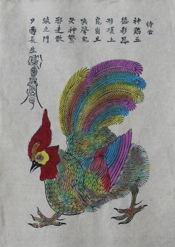 El gallo en la vida cultural y espiritual de los vietnamitas - ảnh 2
