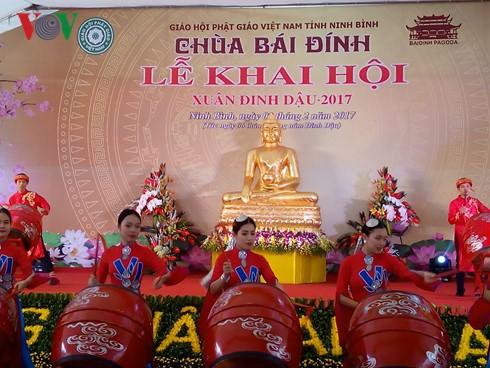 Festivales primaverales se efectúan en varias localidades vietnamitas - ảnh 1