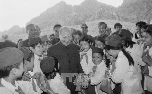 Presidente Tran Dai Quang honra méritos de exlíder del PCV, Truong Chinh - ảnh 1