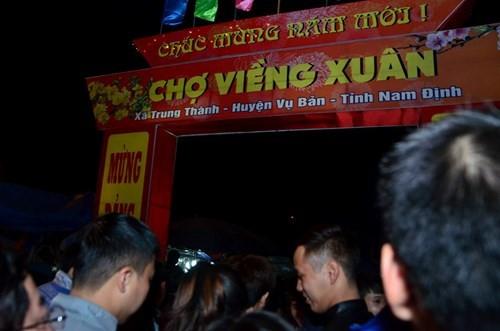 Mercado Vieng, donde se busca suerte y fortuna - ảnh 1
