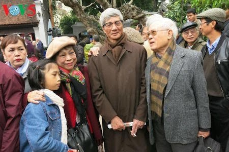 Día de la Poesía de Vietnam, en el Templo de la Literatura, en Hanoi - ảnh 13