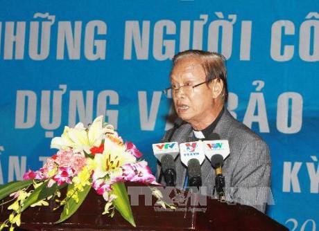 Católicos de Ciudad Ho Chi Minh promueven solidaridad y patriotismo - ảnh 1