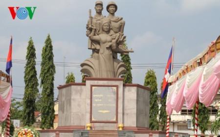 Completan restauración del Monumento de Amistad Vietnam-Camboya - ảnh 1