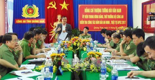 Quang Nam determinada a garantizar seguridad para actividades del APEC - ảnh 1