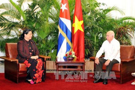 Vietnam y Cuba por estrechar cooperación parlamentaria e intercambio popular  - ảnh 1