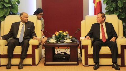 Vietnam y la India intensifican cooperación en tecnología informática y telecomunicaciones - ảnh 1