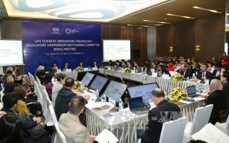 Más de 580 delegados participan en las actividades de SOM 1 - ảnh 1