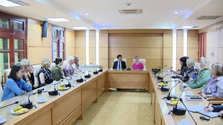 Vietnam y Estados Unidos abogan por impulsar asociación integral e intercambio popular - ảnh 1