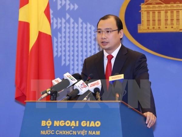 Vietnam rechaza construcción ilegal por parte de China de islas artificiales en Mar del Este - ảnh 1