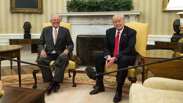 Presidente peruano Kuczynski se reúne con Trump en la Casa Blanca - ảnh 1