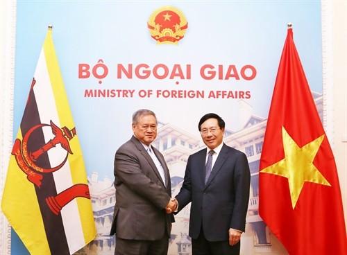 Celebran primera reunión del Comité de Cooperación Bilateral Vietnam-Brunéi - ảnh 1