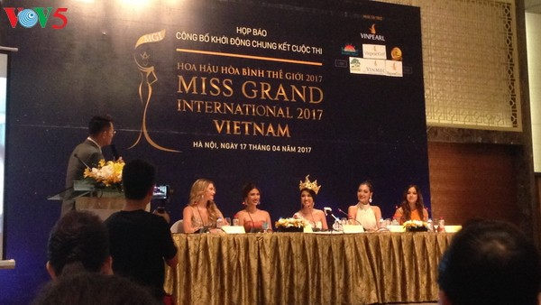Vietnam acogerá ronda final de Miss Grand International 2017 - ảnh 1
