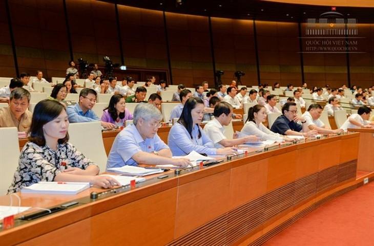 Parlamento vietnamita aprueba varias leyes reformadas - ảnh 1